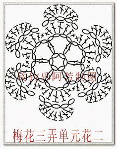Mantón de la bufanda de ganchillo, japanese, crochet, diagram