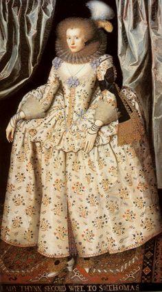 Portrait of Catherine Lyte Howard ~ William Larkin Tudor History, British History, Art History, Renaissance Era, Renaissance Fashion, Historical Costume, Historical Clothing, Dinastia Tudor, Elisabeth I