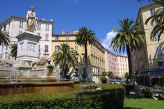 #Ajaccio is de geboorteplaats van #Napoléon, waar veel bezienswaardigheden van hem te vinden zijn. Dit is er één van. #Corsica