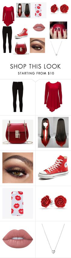 """""""Date with Markiplier"""" by ally555-498 ❤ liked on Polyvore featuring Frame, Converse, Bling Jewelry, Lime Crime and Links of London"""
