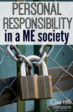 Personal Responsibility in a ME Society
