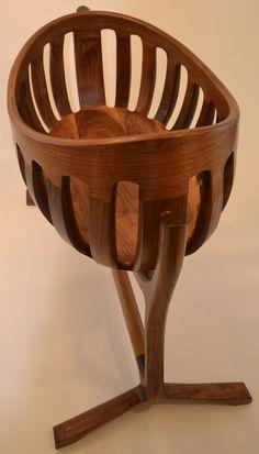 Scott Morrison Inspired Cradle - by SteveGaskins @ LumberJocks.com ~ woodworking community