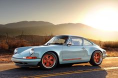 Singer is to Porsche as Morgan Freeman is to Narration.