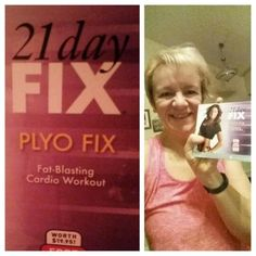 I am excited to try a new workout this morning , it called Plyo  , it's a fat burning Cardio workout .One of my customers received this workout as a Coach gift when order was placed through me , thank you  for letting me to try this great workout . Definitely will be sore tomorrow,  I call it a good sore :)