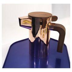 Coffee pot by #BreaktimeKit #teak #copper #brass #tin #MO16