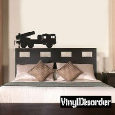 Vinyl Disorder decals are a great way to add a stylistic touch to almost any surface! Military Tank, Truck Decals, Vinyl Wall Decals, Military Vehicles, Furniture, Home Decor, Decoration Home, Truck Stickers, Room Decor