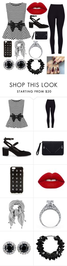 """""""perfect"""" by winternightfrostbite ❤ liked on Polyvore featuring WearAll, Rebecca Minkoff, J.Crew, Lime Crime and First People First"""