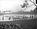 Lake Elizabeth in West Park; ca. 1911