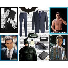 """Christian Bale"" by yamyiy on Polyvore"