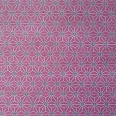 Saki Extra Wide Acrylic Oilcloth In Pink This Is A Small Scale Design And  The Second