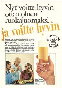 Olut on ystävällinen juoma