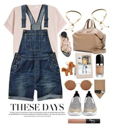 """OVERALLS"" by grinevagh ❤ liked on Polyvore featuring Brunello Cucinelli, Fat Face, MSGM, Givenchy, Eddie Borgo, Marc Jacobs, Addison Ross, Sunday Somewhere, STOW and MCM"