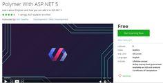 Polymer With ASP.NET 5  http://hii.to/NJaTKtVAx  #aspnet #mvc #development