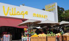 The Village Market in Oakland's Upper Rockridge neighborhood