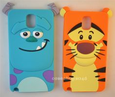 Disney Cartoon Cute silicone cover case for Samsung Galaxy NOTE3 S4  iphone5s 4g #Disney