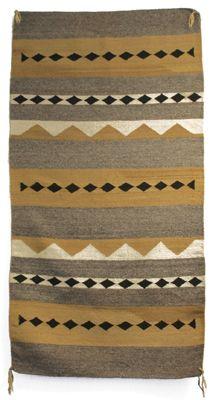 "Navajo Chinle 61"" x 31"" rug $650 from navajorugsblankets.com"