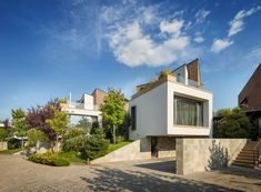 Evening on the Hill / Fabrica de arhitectura #architecture #maisonpassive #ecoconstruction #architecturelovers