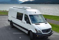 Our Vans -Custom Sprinter Camping Van, Toy Hauler, 4x4 Vans