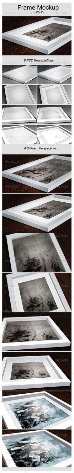 Artwork Frame Mock-Up Vol.2 - Graphics