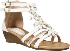 7d4f3c5f28b LADIES WOMENS GLADIATOR STRAPPY WEDGE SANDAL SUMMER EVENING DRESS PARTY SHOE  DIAMANTE FLOWER FLORAL BEACH BUCKLE