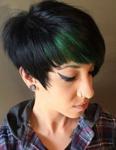 Top 15 colorful pixie cuts. Pixie haircuts with bangs. Pixie hairstyles. Blonde, Red, Brown, Ombre-ed and Highlighted Pixie Cuts for Any Taste