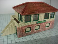 A completely new set of building plans in a 14 page step by step manual Designed by Jeff Howe. This is the first set of BRAND NEW building plans produced in over 20 years Box Building, Model Building, Building Plans, Building Ideas, Plan Drawing, Paper Models, Paper Crafts, How To Plan, Outdoor Decor