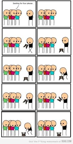 Cyanide and Happiness, a daily webcomic Crazy Funny Memes, Really Funny Memes, Haha Funny, Funny Jokes, Hilarious, Funny Cartoons, Funny Comics, Funny Images, Funny Photos