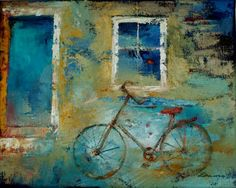 ARTFINDER: Back in time by Joanna Duma - Oil painting inspired by memories of childhood.