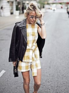 Mary Seng of Happily Grey brings her matching gingham set to the next level.