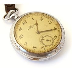 RAREST Kirovskie Antique Russia pocket watch 1938 old pocket watch ($127) ❤ liked on Polyvore