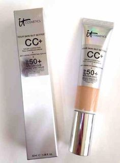 """IT Cosmetics CCI Cream is by far, the best foundation I've used. It has full coverage yet feels lightweight on my skin. I feel like this foundation enhances my skin and doesn't make me look fake. It has so many good qualities, such as a SPF of 50 and anti-aging properties. """"Your skin, but better."""""""