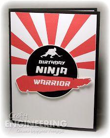 Crafty Engineering: Ninja Warrior Birthday