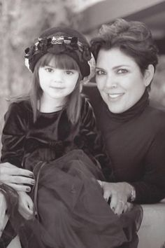 Kendall with mom Kris Jenner in 90's: 38 Unrecognizable Photos of the Kardashians