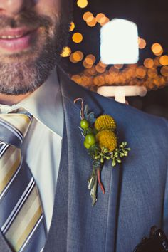 """This groom not only had a bright boutonniere, but """"Yo Gabba Gabba"""" sneakers to pay homage to how he and his wife met. // Photo courtesy of Amelia Lyon."""