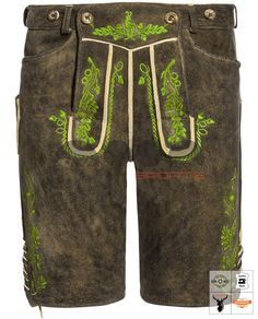 Sepp Lederhose Kurz Braun Art. #MnS-60-0092919 Length: Short Material: Deer skin Buttons: Deer horn DESCRIPTION Sepp Lederhose Kurz for men by Ostarrichi in brown (Braun). The model is made of tanned red deer leather and features traditional details such as contrasting embroidery and horn buttons. Leather lacing at the waistband and at the leg ends ensure a perfect fit, while the buttoned bib and four pockets skilfully round off the stylish overall picture. Red Deer, Lederhosen, Deer Skin, Leather And Lace, Horn, Perfect Fit, Overalls, Buttons, Pockets