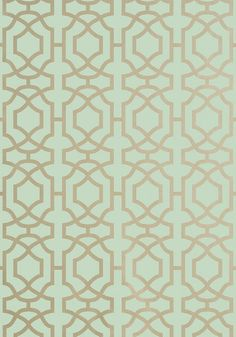 ALSTON TRELLIS, Metallic Gold on Seaglass, T13031, Collection Monterey from Thibaut
