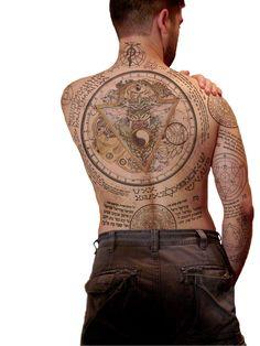 constantine pelicula tatuajes - Buscar con Google
