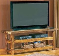 The Best DIY and Decor: Wood pallet TV stand