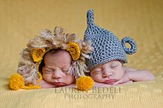 newborn cowardly lion hat photography prop by WeeBeeUniquesByJulie, $27.00