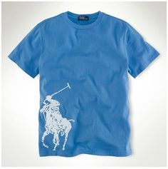 e490a1906f7e72 nouvelle collection ralph lauren - Polo Ralph Lauren Classic Fit Col Rond T- Shirt Bleu