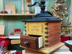 Custom Wooden Coffee Grinder