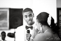Emotional ceremony - Detroit Yacht Club wedding - Kate Saler Photography