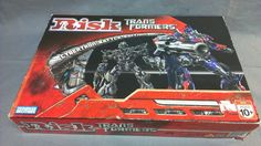 Parker Brothers Transformers Risk Board Game Family Fun | eBay