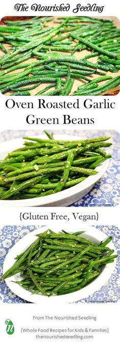 Incredibly easy this recipe is the perfect example of simple yet quality ingredients coming together for a healthy and delicious side dish. Green beans are high in fiber vitamins A C and K as well as folic acid. Veggie Side Dishes, Healthy Side Dishes, Vegetable Dishes, Vegetable Recipes, Healthy Snacks, Vegetarian Recipes, Healthy Eating, Simple Side Dishes, Cheap Side Dishes