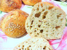 Rezepte mit Herz ♥: Schnelle Vollkorn - Quarkbrötchen mit Sesam und Chia ♡