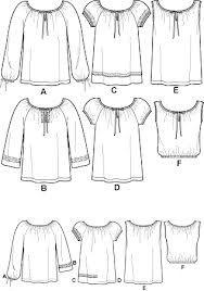 peasant blouse free pattern - Recherche Google