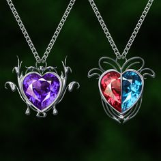 crystal hearts by Darla-Illara.deviantart.com on @DeviantArt