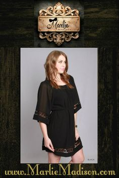+ Bell Sleeve Tunic Dress http://www.marliemadison.com/dresses