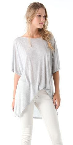 Oversized Tunic Top by susan voorhees
