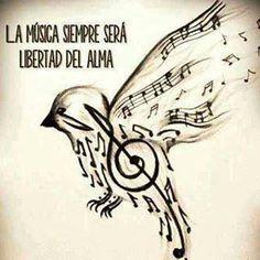 La musica sarà sempre la libertà dell'anima...